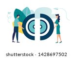 vector illustration  the... | Shutterstock .eps vector #1428697502