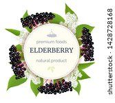 Elderberry Round Circle Badge...