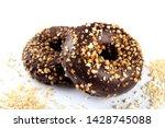 delicious fresh chocolate...   Shutterstock . vector #1428745088