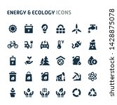 simple bold vector icons... | Shutterstock .eps vector #1428875078