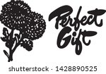 perfect gift   retro ad art... | Shutterstock .eps vector #1428890525