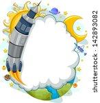 background illustration of a... | Shutterstock .eps vector #142893082