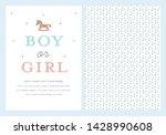 Gender Reveal Baby Shower...