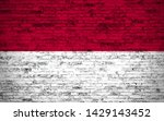 effects of indonesia flag  flag ... | Shutterstock . vector #1429143452