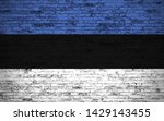 effects of estonia flag  flag... | Shutterstock . vector #1429143455