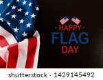 happy american flag day... | Shutterstock . vector #1429145492