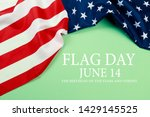 happy american flag day... | Shutterstock . vector #1429145525