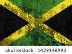 effects of jamaica flag  flag... | Shutterstock . vector #1429146992