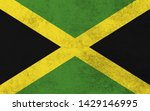 effects of jamaica flag  flag... | Shutterstock . vector #1429146995