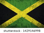 effects of jamaica flag  flag... | Shutterstock . vector #1429146998