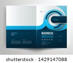 vector brochure layout  flyer... | Shutterstock .eps vector #1429147088