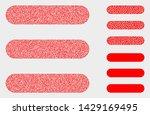 pixel and mosaic menu list...   Shutterstock .eps vector #1429169495