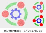 pixel and mosaic industrial...   Shutterstock .eps vector #1429178798