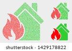 dot and mosaic house fire...   Shutterstock .eps vector #1429178822