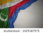 waving colorful national flag... | Shutterstock . vector #1429187975