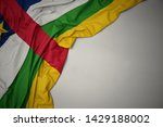 waving colorful national flag... | Shutterstock . vector #1429188002