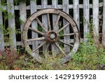Wooden Horse Cart   Wagon Wheel ...