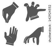hand set  hand sign | Shutterstock .eps vector #142924552
