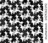 black and white grunge stripe...   Shutterstock . vector #1429262192