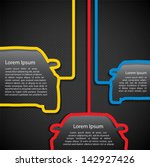 car banners   vector... | Shutterstock .eps vector #142927426
