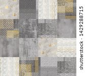 Small photo of abstract grunge textile background, vintage wallpaper