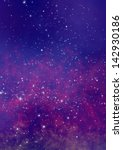 star field in space and a gas... | Shutterstock . vector #142930186