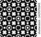 Monochrome Geometric Pattern...