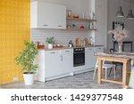 Kitchen Interior. Modern...