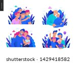 medical insurance template ... | Shutterstock .eps vector #1429418582