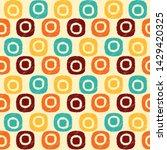 seamless abstract ikat pattern...   Shutterstock .eps vector #1429420325