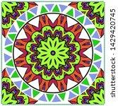vector mandala pattern for...   Shutterstock .eps vector #1429420745