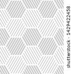 vector seamless texture. modern ...   Shutterstock .eps vector #1429422458