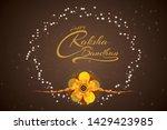 raksha bandhan rakhi festival...   Shutterstock .eps vector #1429423985
