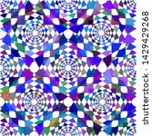 abstract blue shades geometric...   Shutterstock .eps vector #1429429268