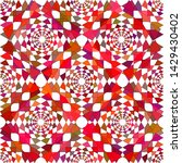 abstract red shades geometric...   Shutterstock .eps vector #1429430402