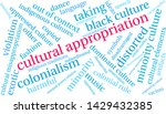 cultural appropriation word... | Shutterstock .eps vector #1429432385
