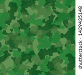 camouflage seamless pattern...   Shutterstock .eps vector #1429435148