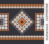 polka dots seamless pattern....   Shutterstock .eps vector #1429440968