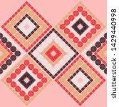 polka dots seamless pattern....   Shutterstock .eps vector #1429440998
