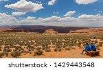 horseshoe bend  page  arizona  ... | Shutterstock . vector #1429443548
