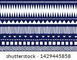 tribal pattern. ethnic...   Shutterstock .eps vector #1429445858