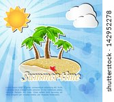 summer time backgrund | Shutterstock .eps vector #142952278
