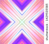 halftone ornament  psychedelic... | Shutterstock .eps vector #1429535585