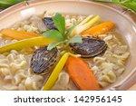 noodle soup | Shutterstock . vector #142956145