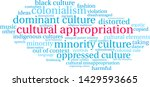 cultural appropriation word... | Shutterstock .eps vector #1429593665
