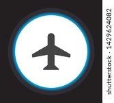 aircraft vector icon . lorem...