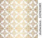 vector golden background.... | Shutterstock .eps vector #1429631885
