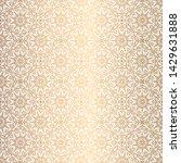 vector golden background.... | Shutterstock .eps vector #1429631888