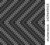 design seamless monochrome... | Shutterstock .eps vector #1429645415