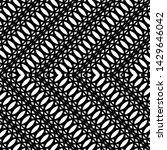 design seamless monochrome... | Shutterstock .eps vector #1429646042